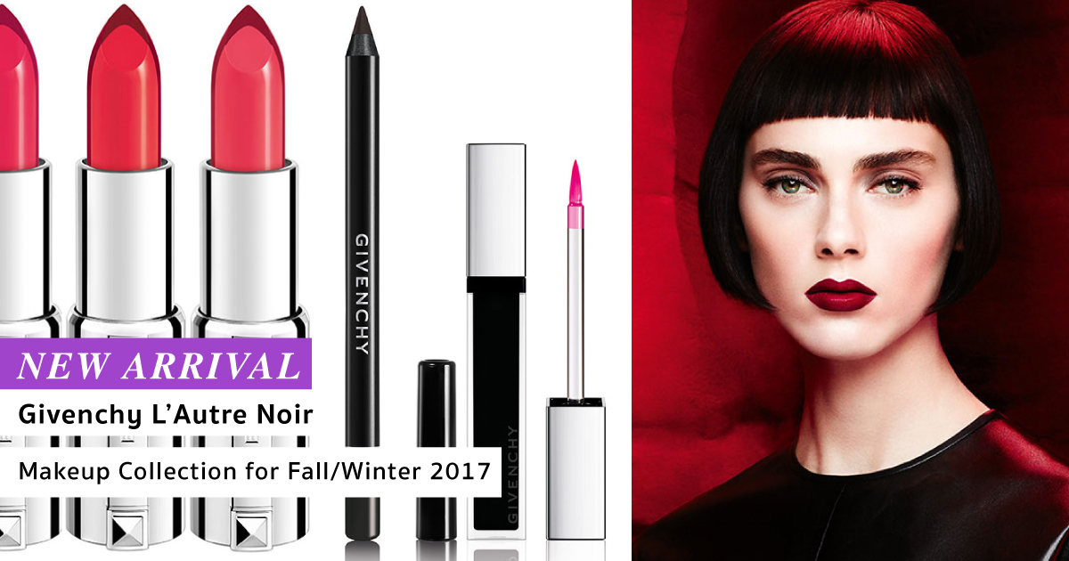 Givenchy L'Autre Noir Makeup Collection for Fall/Winter ...